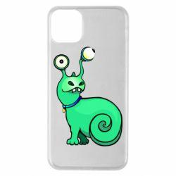 Чехол для iPhone 11 Pro Max Green monster snail