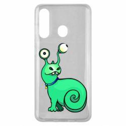 Чехол для Samsung M40 Green monster snail