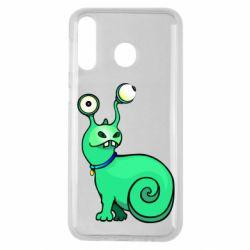 Чехол для Samsung M30 Green monster snail