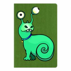 Блокнот А5 Green monster snail