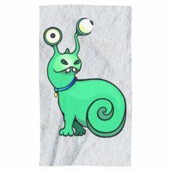 Полотенце Green monster snail