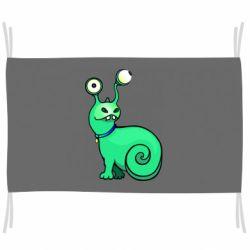 Флаг Green monster snail