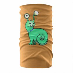 Бандана-труба Green monster snail