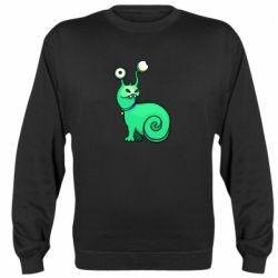 Реглан (свитшот) Green monster snail