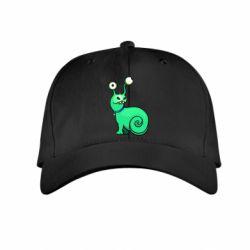 Детская кепка Green monster snail