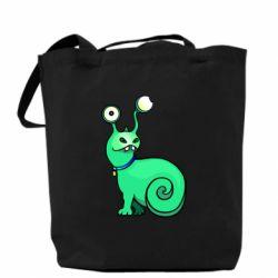 Сумка Green monster snail
