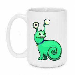 Кружка 420ml Green monster snail