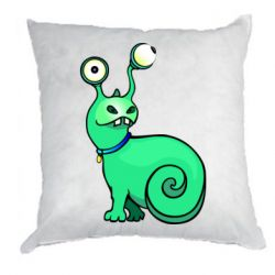 Подушка Green monster snail
