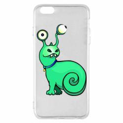 Чехол для iPhone 6 Plus/6S Plus Green monster snail