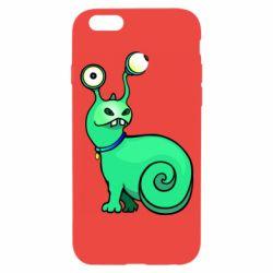 Чехол для iPhone 6/6S Green monster snail