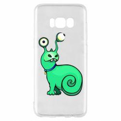 Чехол для Samsung S8 Green monster snail