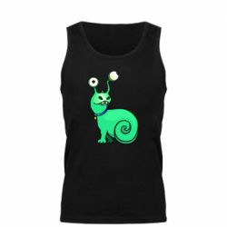 Мужская майка Green monster snail