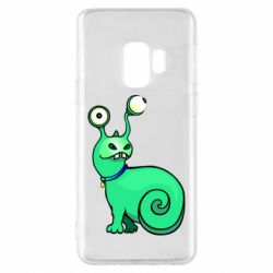 Чехол для Samsung S9 Green monster snail