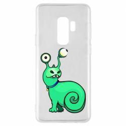 Чехол для Samsung S9+ Green monster snail
