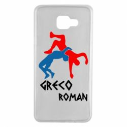 Чохол для Samsung A7 2016 Греко-римська боротьба