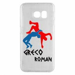 Чохол для Samsung S6 EDGE Греко-римська боротьба