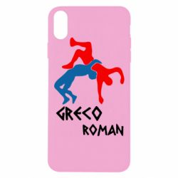 Чохол для iPhone Xs Max Греко-римська боротьба