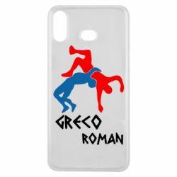 Чохол для Samsung A6s Греко-римська боротьба
