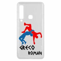 Чохол для Samsung A9 2018 Греко-римська боротьба