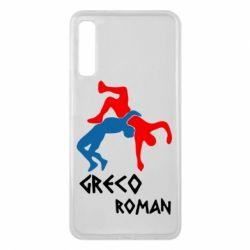 Чохол для Samsung A7 2018 Греко-римська боротьба