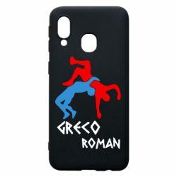 Чохол для Samsung A40 Греко-римська боротьба