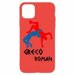 Чохол для iPhone 11 Pro Max Греко-римська боротьба