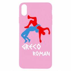 Чохол для iPhone X/Xs Греко-римська боротьба
