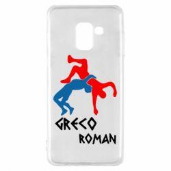 Чохол для Samsung A8 2018 Греко-римська боротьба