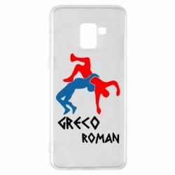 Чохол для Samsung A8+ 2018 Греко-римська боротьба