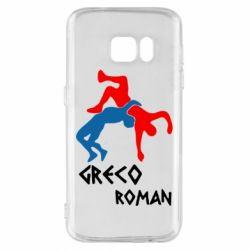 Чохол для Samsung S7 Греко-римська боротьба