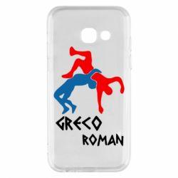 Чохол для Samsung A3 2017 Греко-римська боротьба