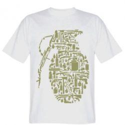 Чоловіча футболка Grenade Art