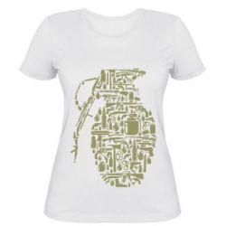 Жіноча футболка Grenade Art