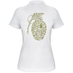 Жіноча футболка поло Grenade Art