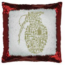 Подушка-хамелеон Grenade Art