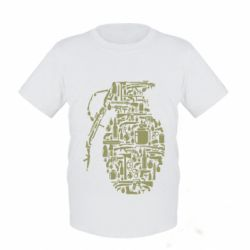 Дитяча футболка Grenade Art
