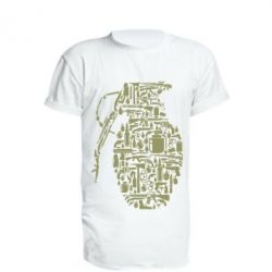 Подовжена футболка Grenade Art