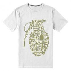 Чоловіча стрейчева футболка Grenade Art