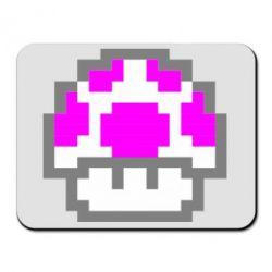Коврик для мыши Гриб Марио в пикселях - FatLine