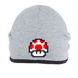 Шапка Гриб Марио в пикселях - FatLine