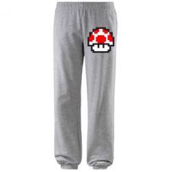 Штаны Гриб Марио в пикселях - FatLine