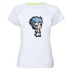 Женская спортивная футболка Grimmjou bleach