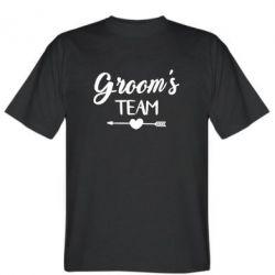 Футболка Groom's team