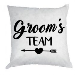 Подушка Groom's team