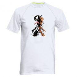 Чоловіча спортивна футболка Groot and Venom