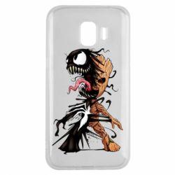 Чохол для Samsung J2 2018 Groot and Venom