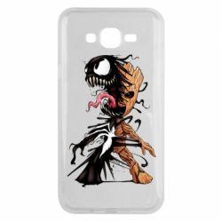 Чохол для Samsung J7 2015 Groot and Venom