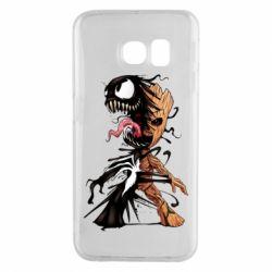 Чохол для Samsung S6 EDGE Groot and Venom