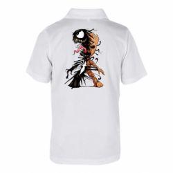 Дитяча футболка поло Groot and Venom