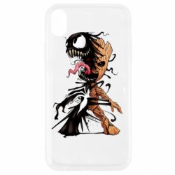 Чохол для iPhone XR Groot and Venom